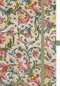 """Premium Notes Small Textile """"Vintage Flowers"""""""