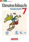 Deutschbuch Gymnasium, Fördermaterial: 7. Schuljahr, Förderheft