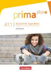 Prima plus - Deutsch für Jugendliche: Arbeitsbuch, m. CD-ROM; .A1.1