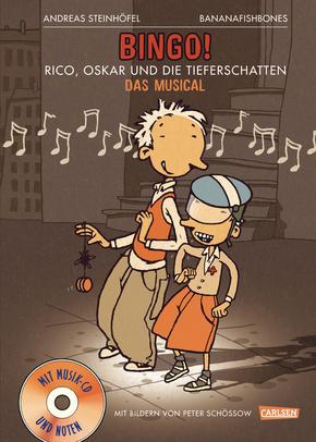 Bingo: Rico, Oskar und die Tieferschatten, m. Audio-CD