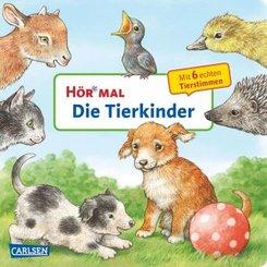 Hör mal - Die Tierkinder, m. Soundeffekten