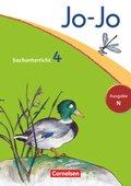 Jo-Jo Sachunterricht, Ausgabe N (Neubearbeitung 2012): 4. Schuljahr, Schülerbuch