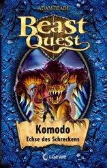 Beast Quest (Band 31) - Komodo, Echse des Schreckens