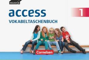 English G Access - Allgemeine Ausgabe: 5. Schuljahr, Vokabeltaschenbuch (TING-fähig); Bd.1