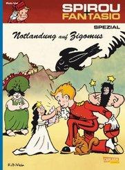 Spirou und Fantasio - Notlandung auf Zigomus