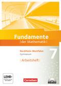 Fundamente der Mathematik, Gymnasium Nordrhein-Westfalen: 7. Schuljahr, Arbeitsheft mit CD-ROM