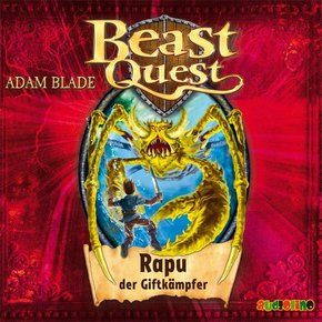 Beast Quest: Rapu der Giftkämpfer, 1 Audio-CD