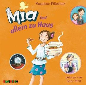Mia fast allein zu Haus, 2 Audio-CDs