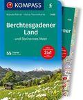 Kompass Wanderführer Berchtesgadener Land und Steinernes Meer, m. Karte