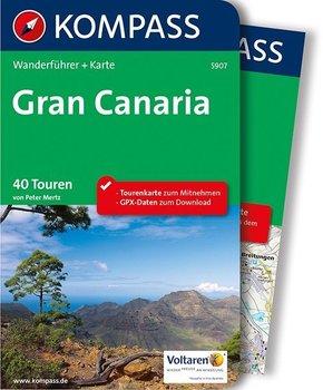 Kompass Wanderführer Gran Canaria, m. Karte