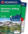 Kompass Wanderführer Montafon, Arlberg, Silvretta, m. Karte