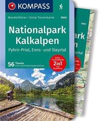 KOMPASS Wanderführer Nationalpark Kalkalpen - Pyhrn-Priel, Enns- und Steyrtal, m. 1 Karte