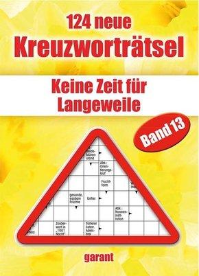 124 neue Kreuzworträtsel - Bd.13