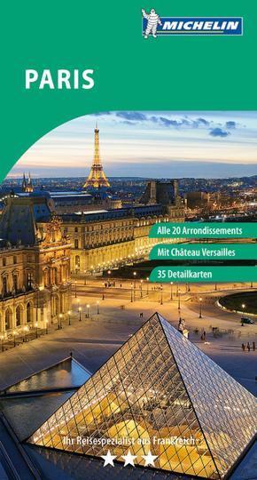 Michelin Der Grüne Reiseführer Paris