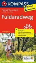 Kompass Fahrrad-Tourenkarte Fuldaradweg