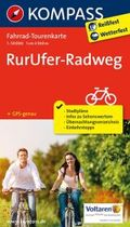 Kompass Fahrrad-Tourenkarte RurUfer-Radweg