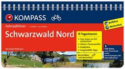 KOMPASS Fahrradführer Schwarzwald Nord