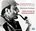 Sherlock Holmes - Eine Studie in Scharlachrot, 2 Audio-CDs