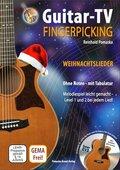 Guitar-TV: Fingerpicking - Weihnachtslieder, m. DVD-ROM