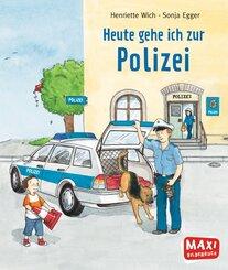 Heute gehe ich zur Polizei