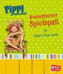 Pippi Langstrumpf - Kunterbunter Spielspaß in Taka-Tuka-Land