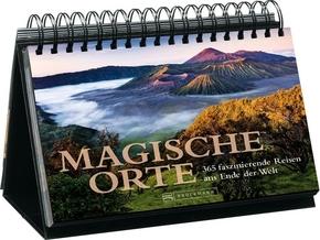 Tischaufsteller Magische Orte - 365 faszinierende Reisen ans Ende der Welt. Mit immerwährendem Kalendarium