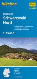 Bikeline Radkarte Schwarzwald Nord