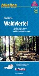 Bikeline Radkarte Waldviertel