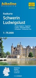 Bikeline Radkarte Schwerin, Ludwigslust