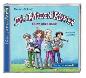 Die Wilden Küken, Huhn über Bord!, 1 Audio-CD