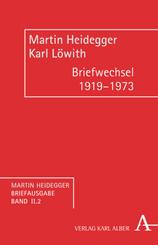 Martin Heidegger Briefausgabe, Wissenschaftliche Korrespondenz: Briefwechsel 1919-1973; Bd.II/2