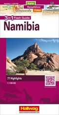 Hallwag Flash Guide Namibia