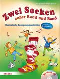 Zwei Socken außer Rand und Band, m. Audio-CD