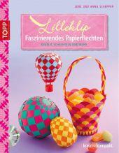 Lilleklip - Faszinierendes Papierflechten, m. DVD