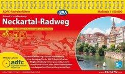 ADFC-Radreiseführer Neckartal-Radweg