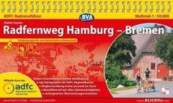 ADFC-Radreiseführer Radfernweg Hamburg - Bremen