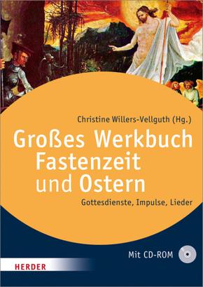 Großes Werkbuch Fastenzeit und Ostern, m. CD-ROM