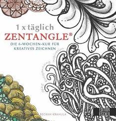 1 x täglich Zentangle
