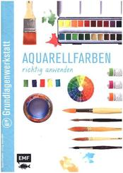 Aquarellfarben richtig anwenden