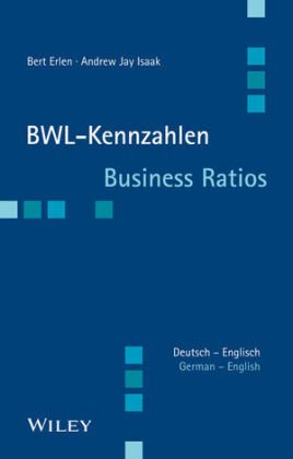 BWL-Kennzahlen Deutsch-Englisch - Business Ratios German-English