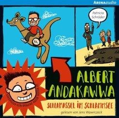 Albert Andakawwa - Schlamassel im Schlammsee, Audio-CD