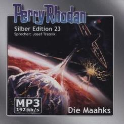 Perry Rhodan Silber Edition - Die Maahks, 2 MP3-CDs