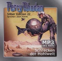 Perry Rhodan Silber Edition - Schrecken der Hohlwelt, 2 MP3-CDs
