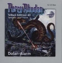 Perry Rhodan Silber Edition - Dolan-Alarm, 12 Audio-CDs