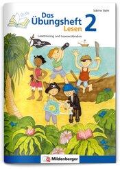 Das Übungsheft Lesen: Klasse 2