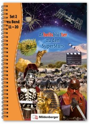 Arbeitsblätter zu den SuperStars - Bd.2