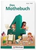 """Das Mathebuch, Neubearbeitung: 4. Klasse, Schülerbuch m. CD-ROM """"Mathetiger Basicversion"""""""