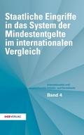 Staatliche Eingriffe in das System der Mindestentgelte im internationalen Vergleich (f. Österreich)