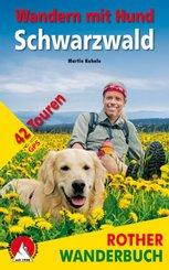 Rother Wanderbuch Wandern mit Hund Schwarzwald