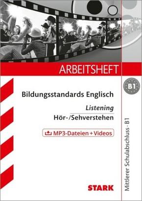 Bildungsstandards Englisch Listening - Hör-/Sehverstehen, m. CD-ROM